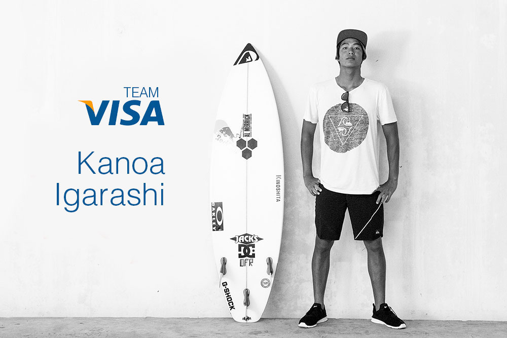 Japan's Kanoa Igarashi in Team Visa Commercial