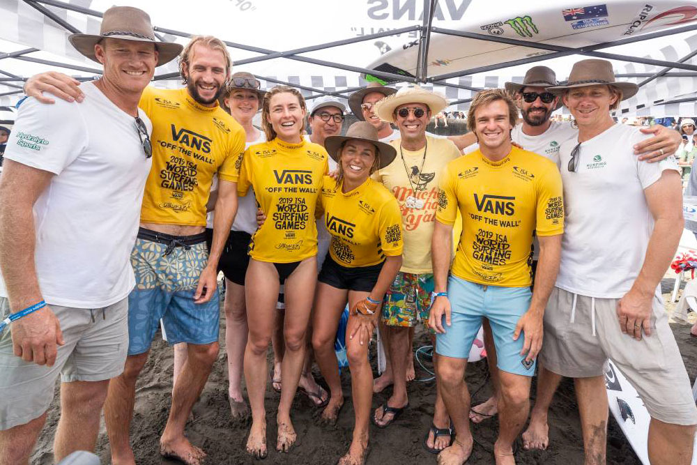 Australia win Aloha Cup at World Surfing Games, Miyazaki